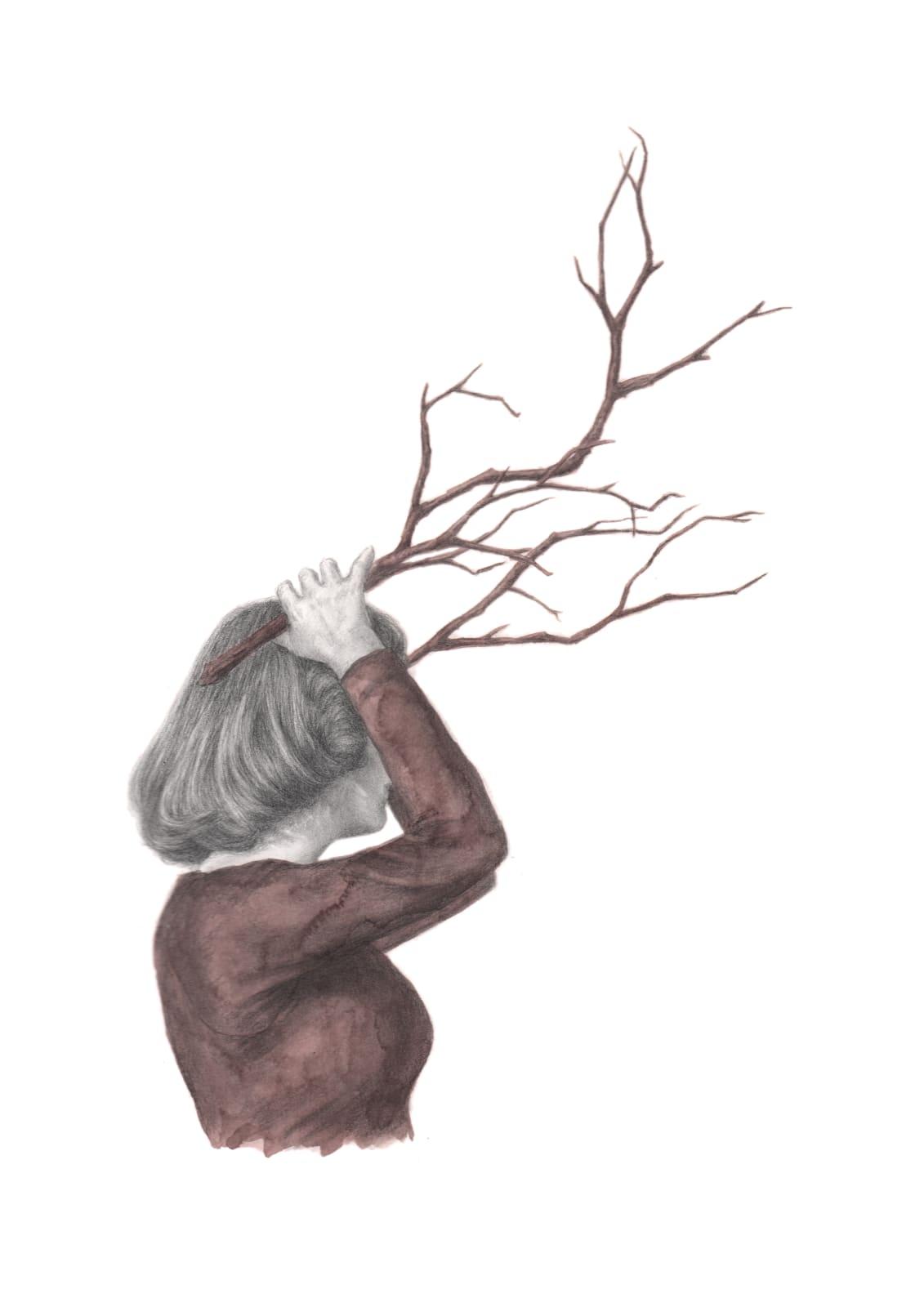 Rachel Goodyear, Antlers, 2021