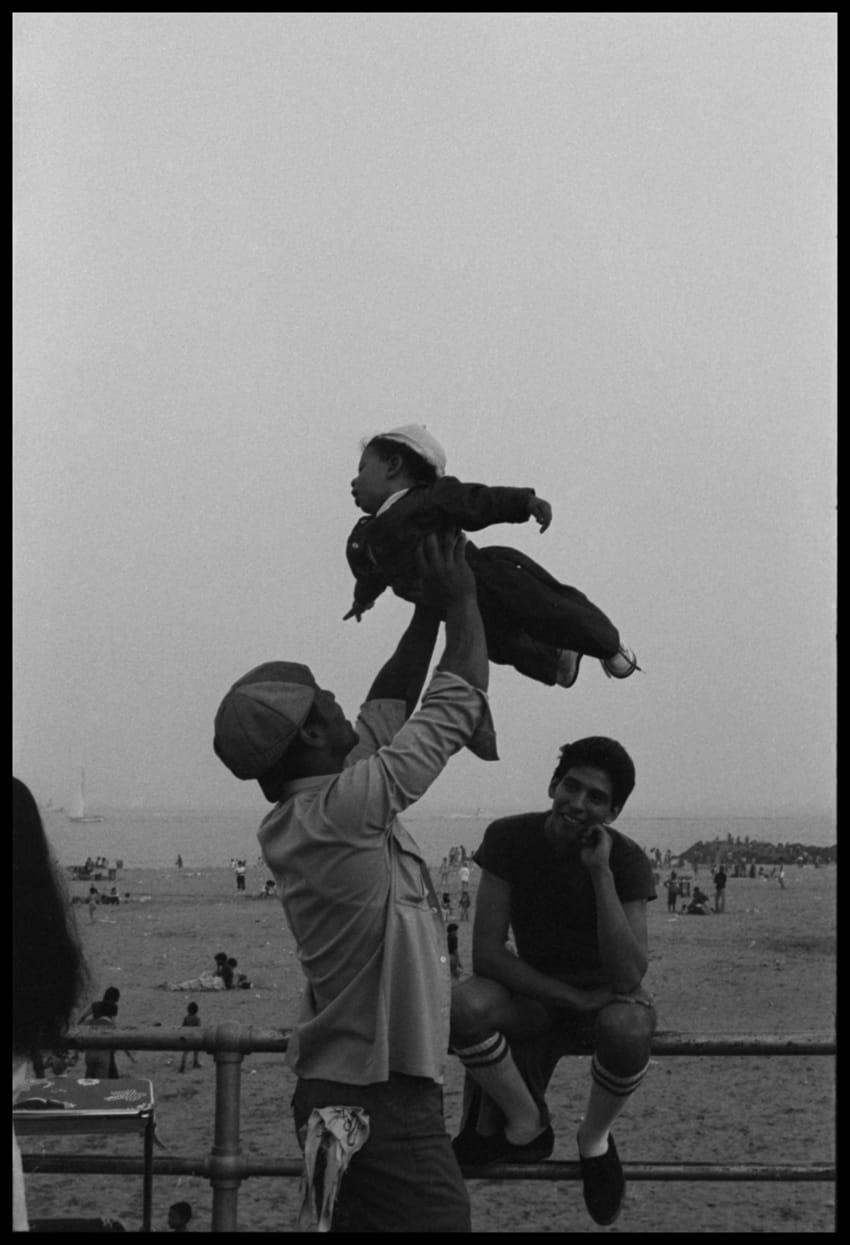 Ming Smith, Flying High, Coney Island, 1976