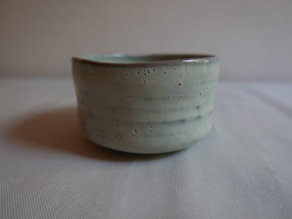 Vintage Ceramics, Matcha Bowl - White Glaze