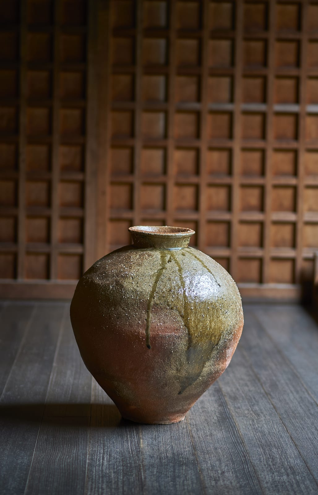 Kan Kishino, Yakishime Jar, 2020