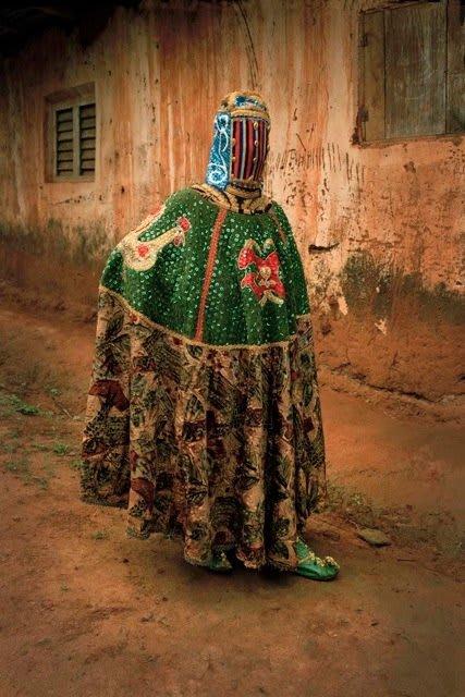 Leonce Raphael Agbodjelou, Untitled (Egungun series), 2011