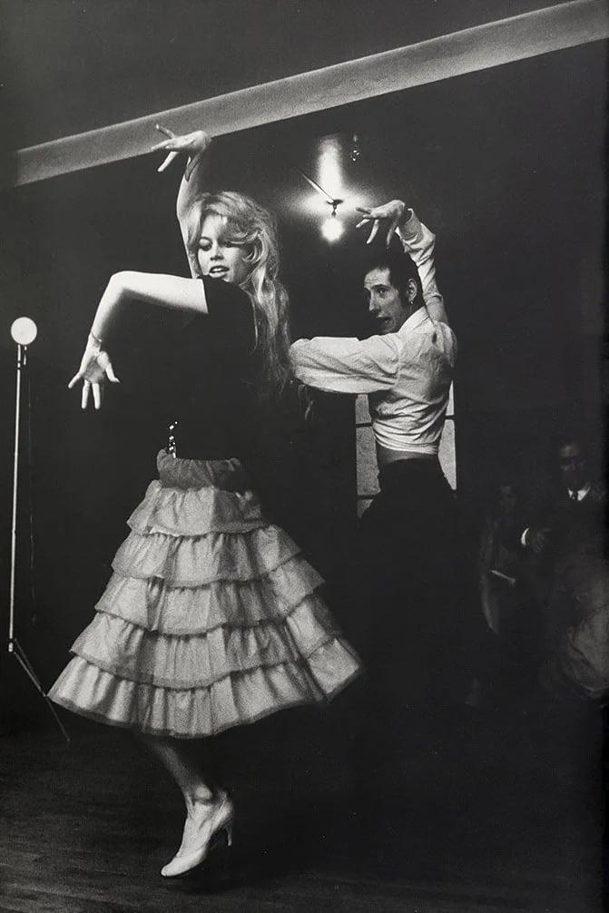 Willy Rizzo, Brigitte Bardot Dancing Flamenco in Paris, 1960