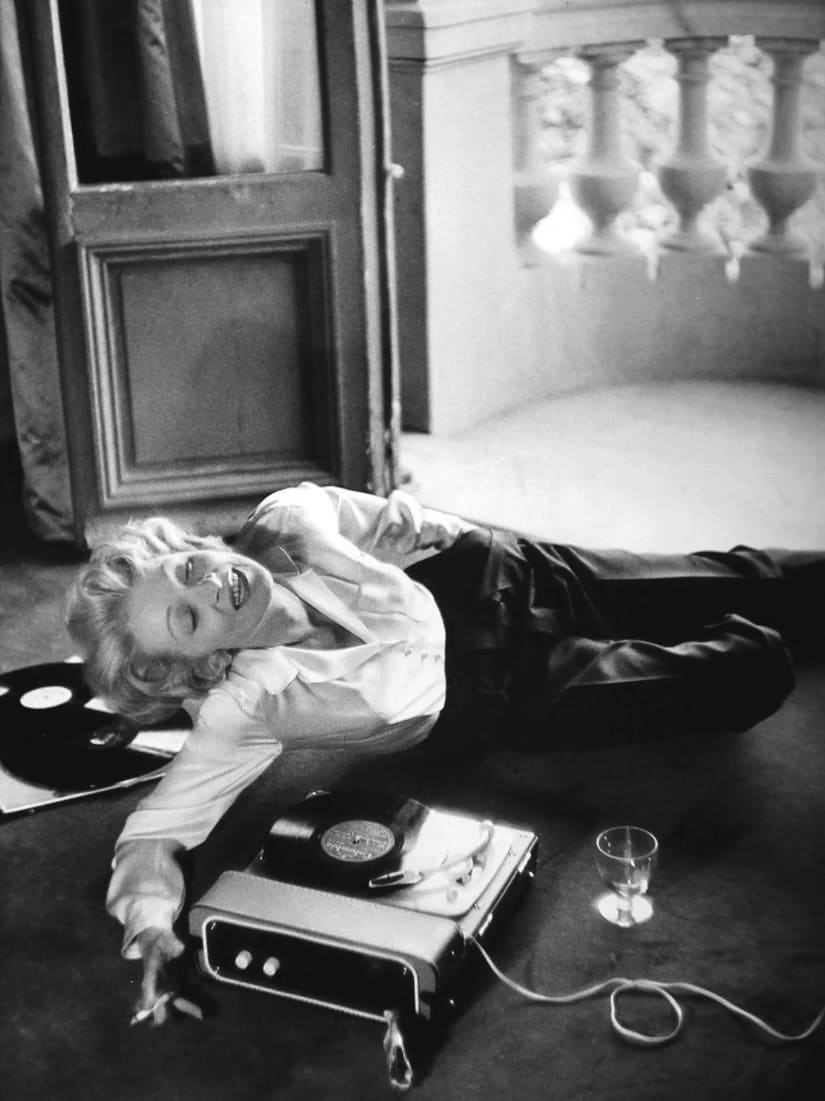 Willy Rizzo, Marlene Dietrich in Monte-Carlo, 1956