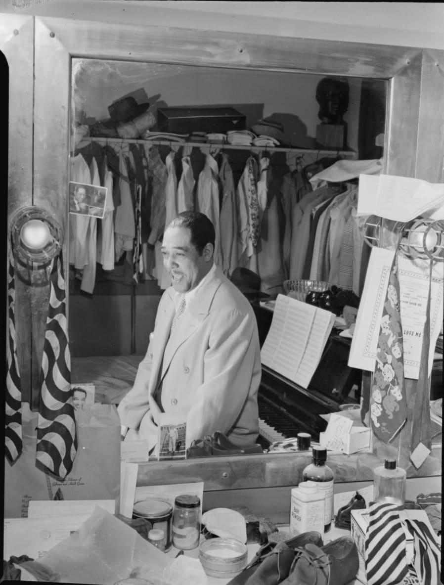 William Gottlieb, Duke Ellington, Paramount Theater, New York, 1946