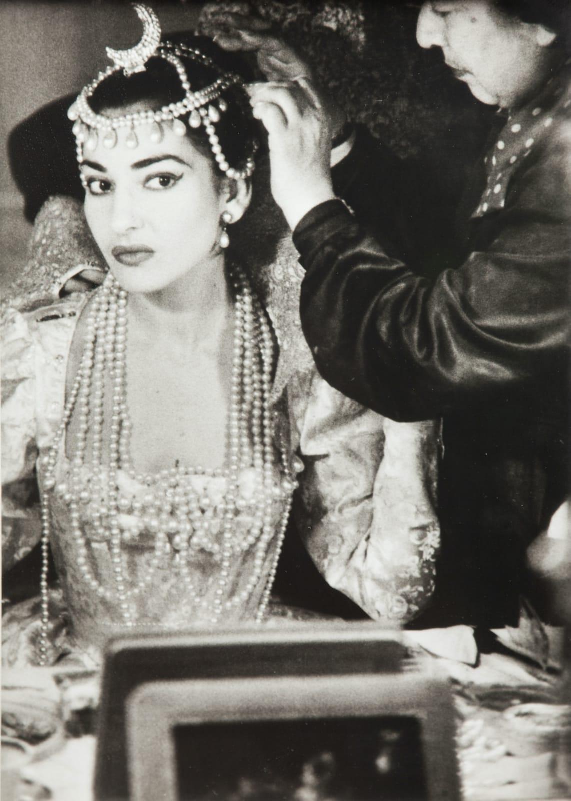 Willy Rizzo, Maria Callas in la Scala de Milan, 1958
