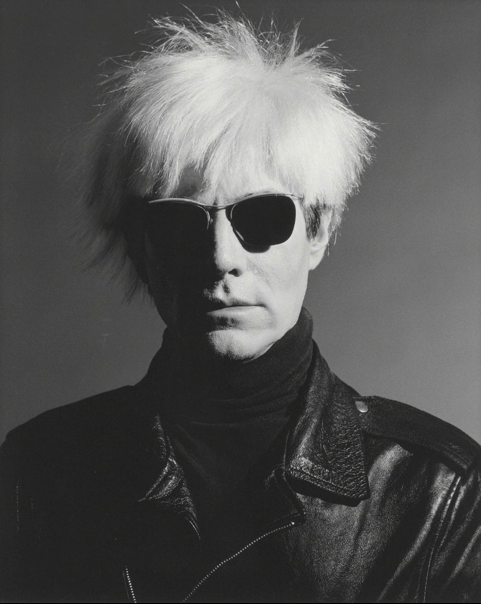 Greg Gorman, Andy Warhol, Los Angeles, 1986