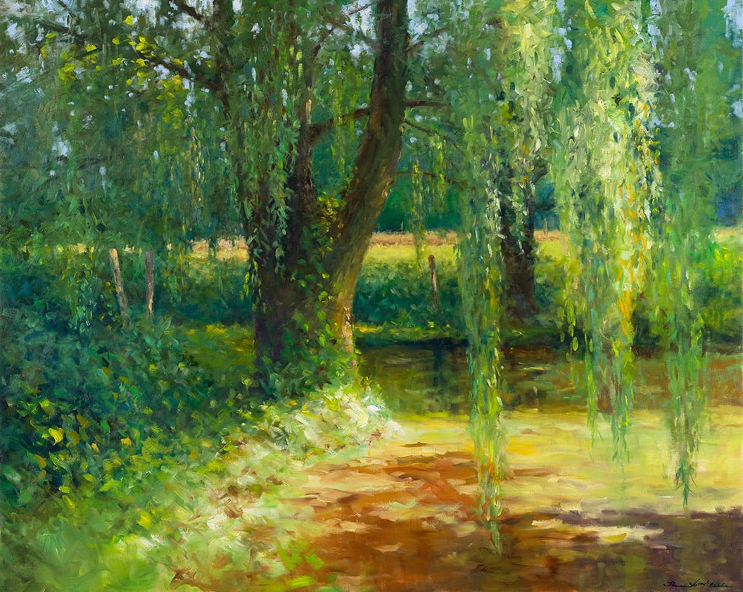 Thomas McNickle, WILLOW POND-COFFEE TIME, 2020