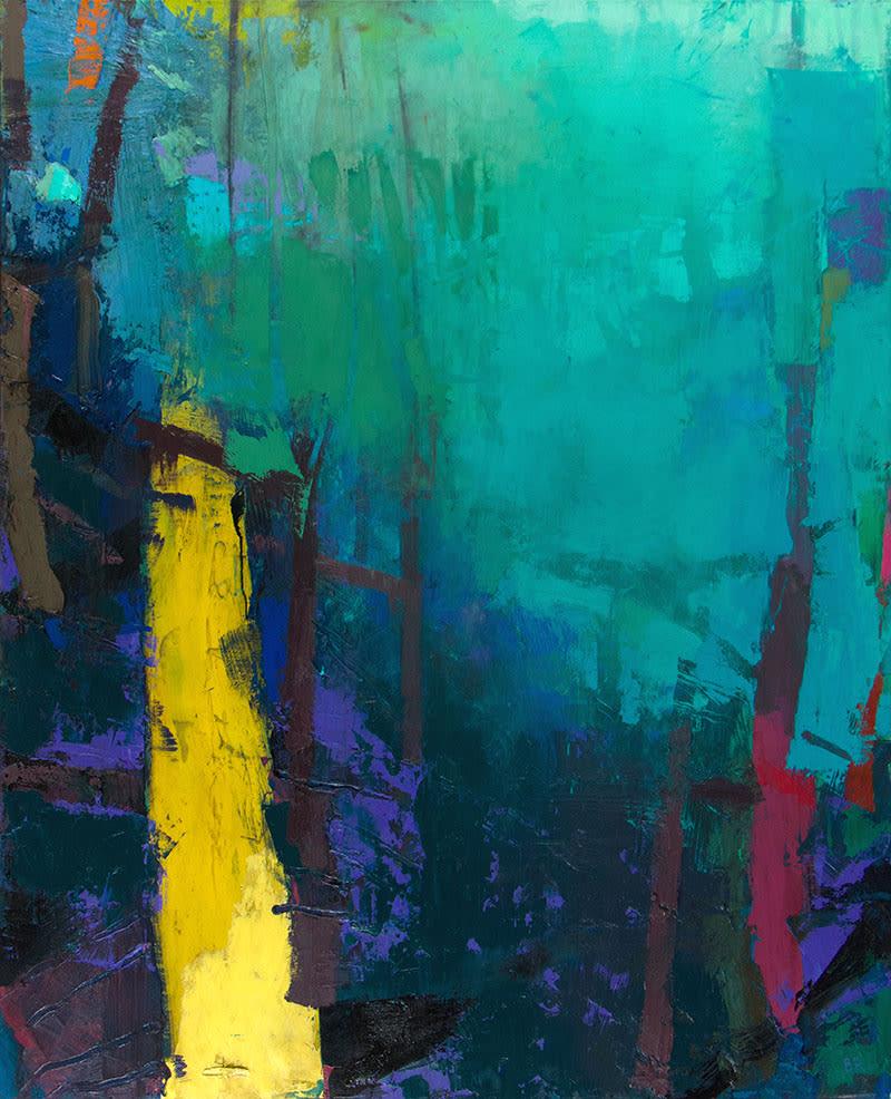 Brian Rutenberg, SEA GLASS 3, 2015