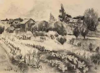 Oscar Florianus Bluemner, BLOOMFIELD, 1930