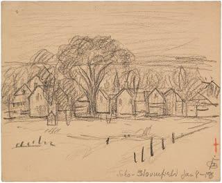 Oscar Florianus Bluemner, SOHO-BLOOMFIELD JAN 8-18, 1918