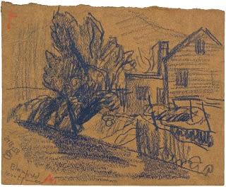 Oscar Florianus Bluemner, BLOOMFIELD, MONTGOMERY, 1918