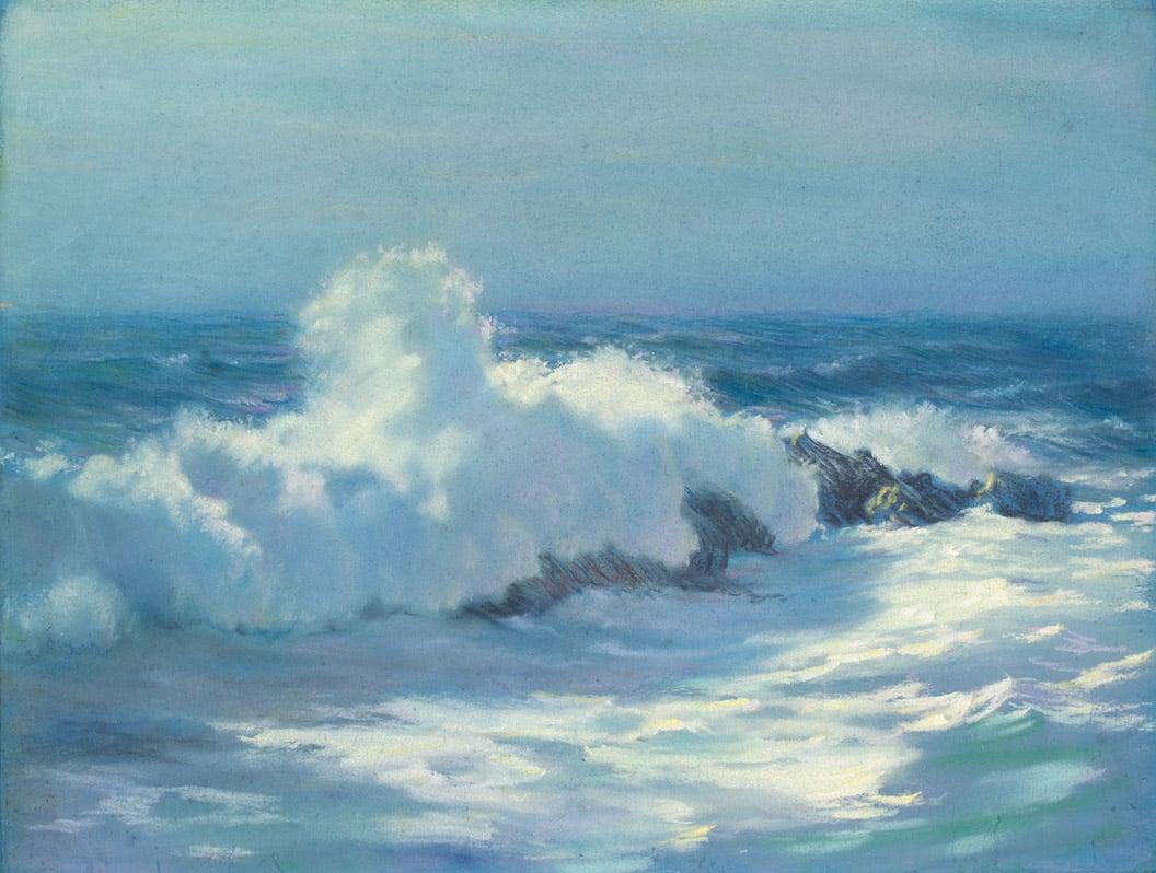 William Partridge Burpee, CRASHING WAVES, MAINE