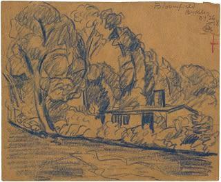 Oscar Florianus Bluemner, BLOOMFIELD, BERKELEY, 1918
