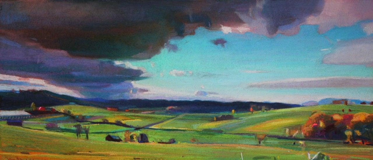 Charles Basham, ALONG THE BLUE RIDGE (VIRGINIA), 2021