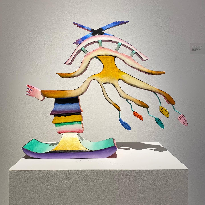 Ida Kohlmeyer, CIRCUS SERIES 3D #1, 1989
