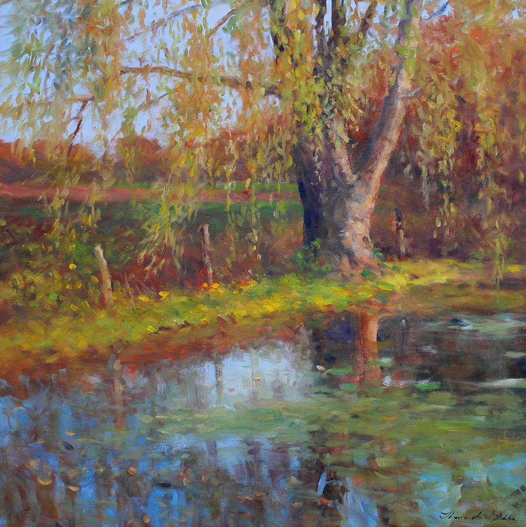 Thomas McNickle, WILLOW POND-OCTOBER, 2020