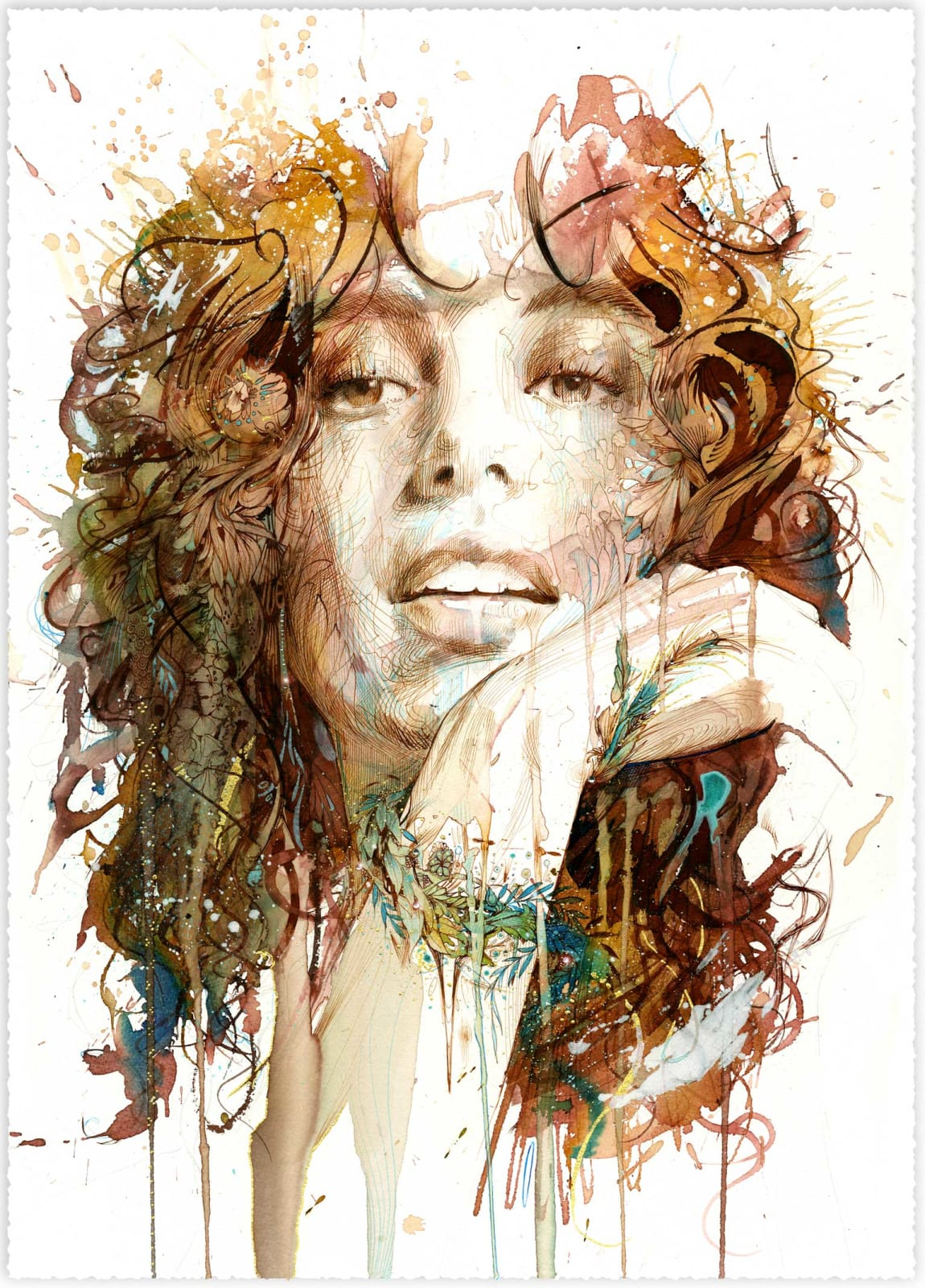 Carne Griffiths, Nature's Riches, 2020