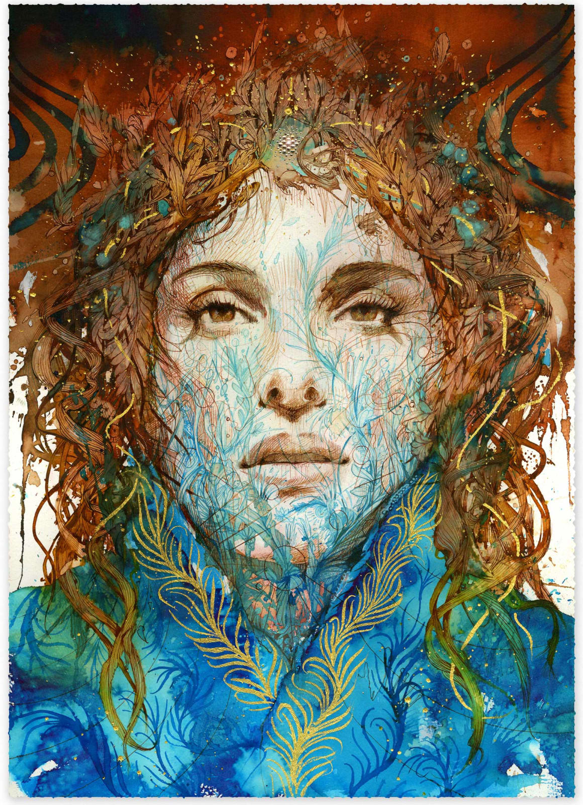Carne Griffiths, The Crown, 2020