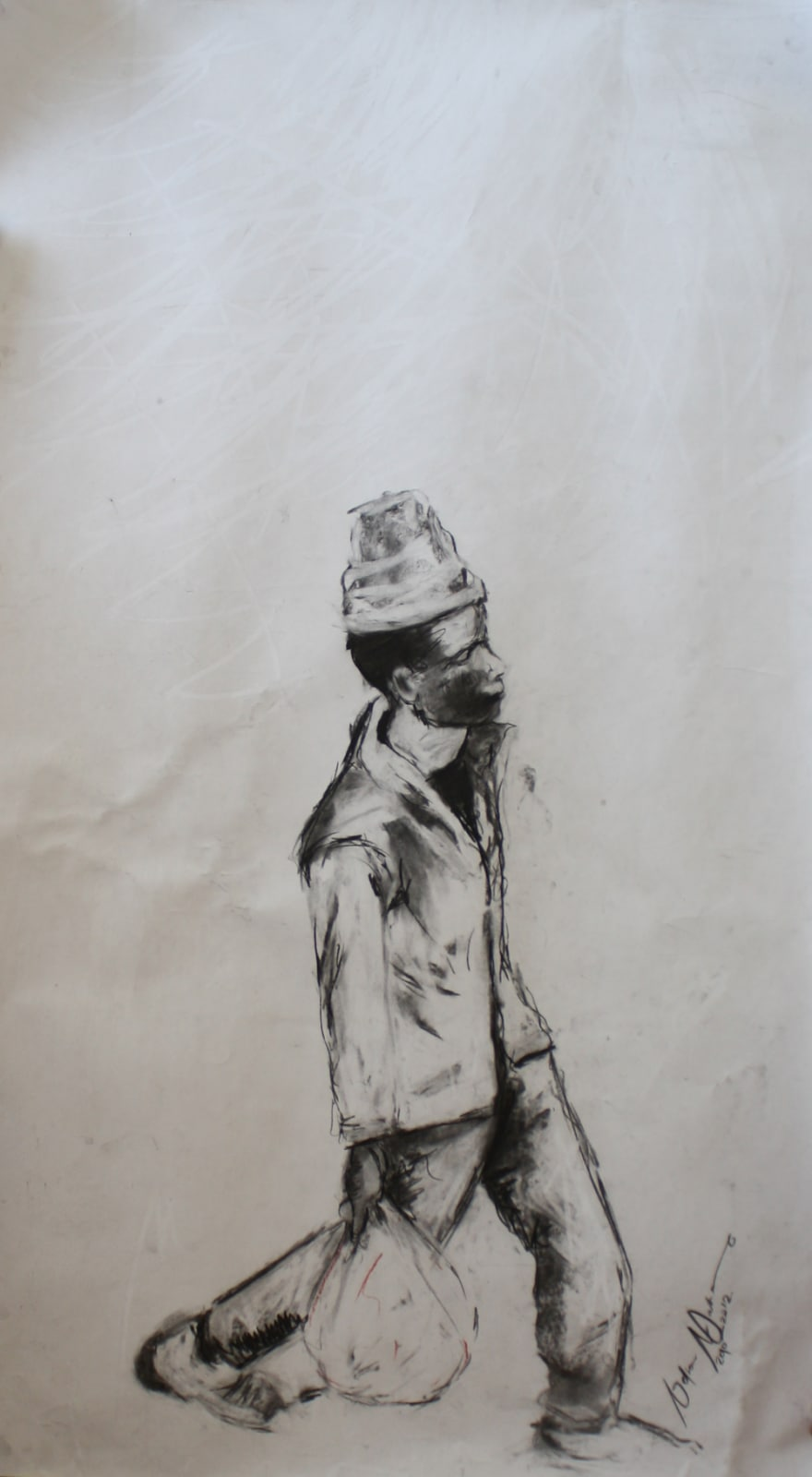 Nelson Makamo, That Dude Walking, 2012