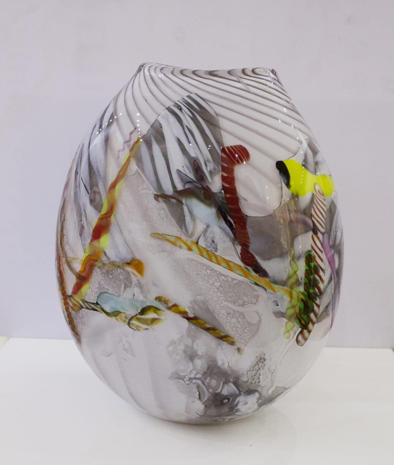 Maxi Pretorius, Vase(Grey), 2018