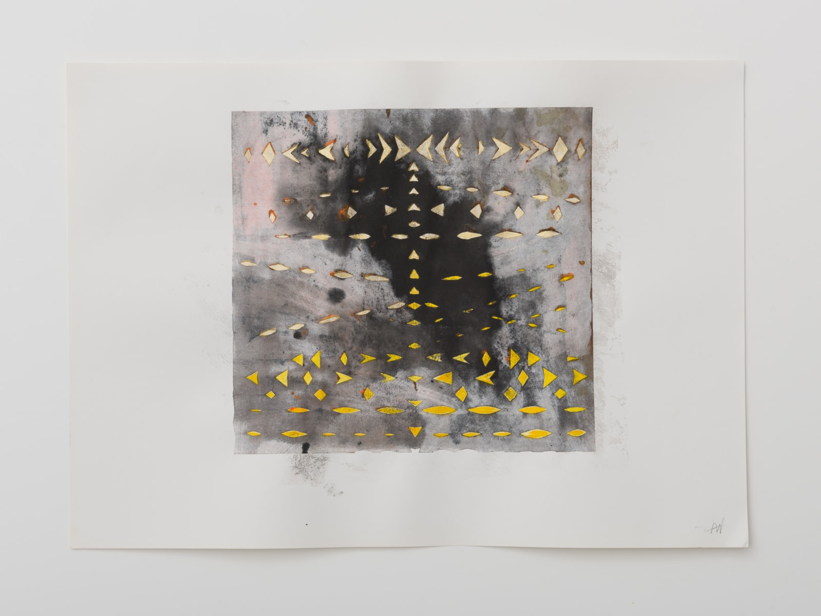 Alison Wilding, Cut Series Large #4, 2020