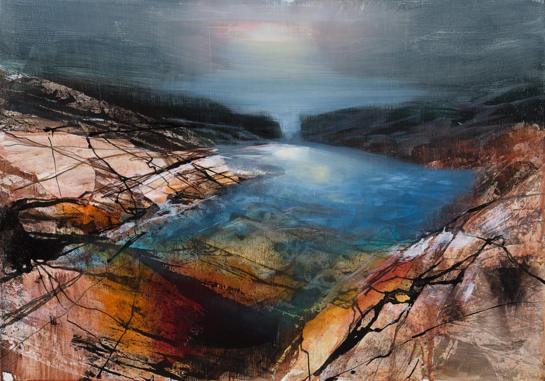 Beth Robertson Fiddes, Rock Pool Light, 2020