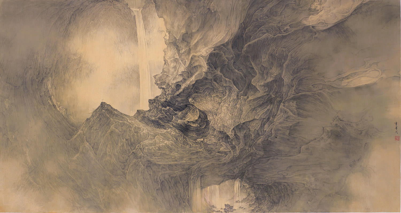 Li Huayi 李華弌, Immortal Mountain – Passage to Pureland 《仙山-天景通》, 2013