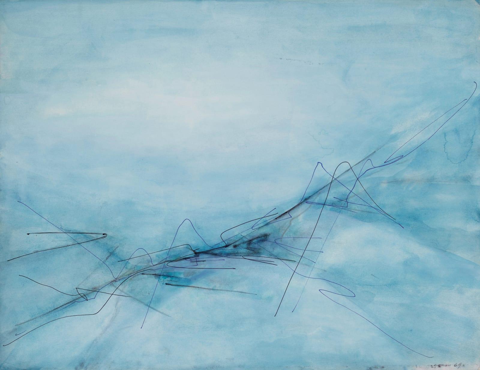 Lalan 謝景蘭, Untitled《無題》, 1969