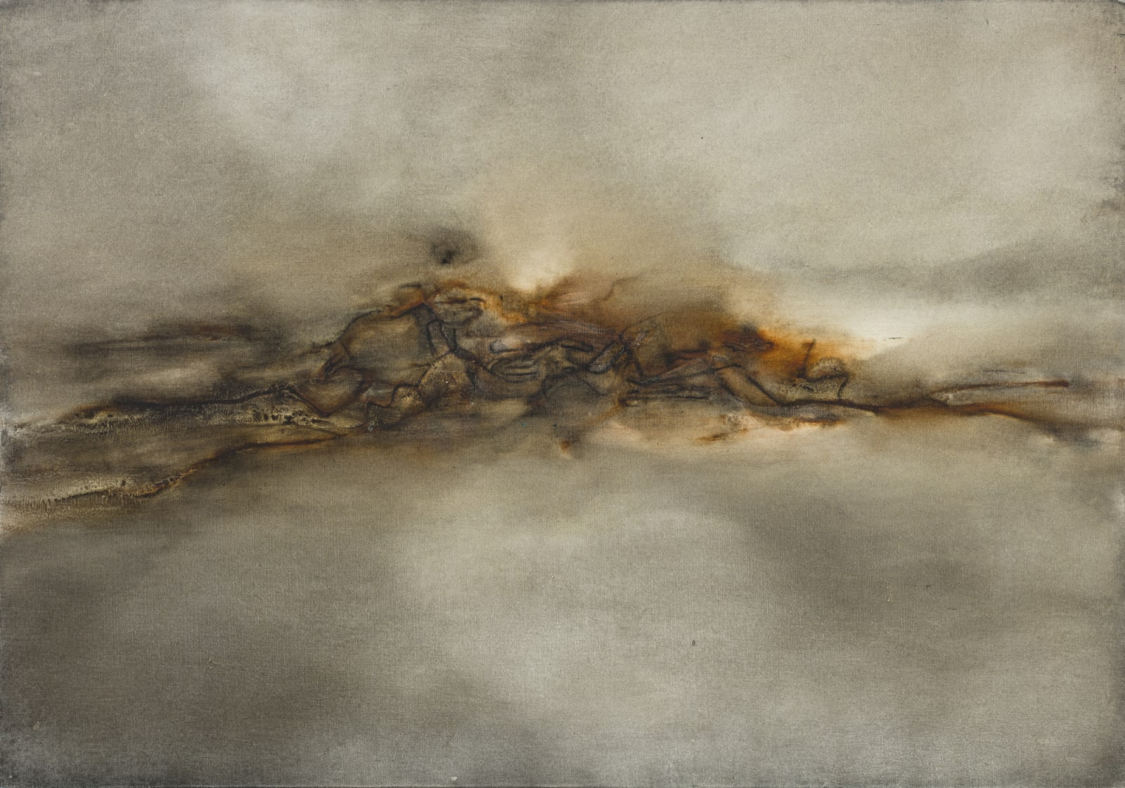 Lalan 謝景蘭, Untitled《無題》, 1972