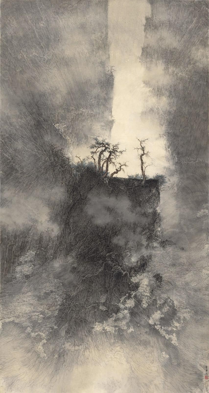 Li Huayi 李華弌, The Combat of Water and Stone《水石相搏》, 2012-2013
