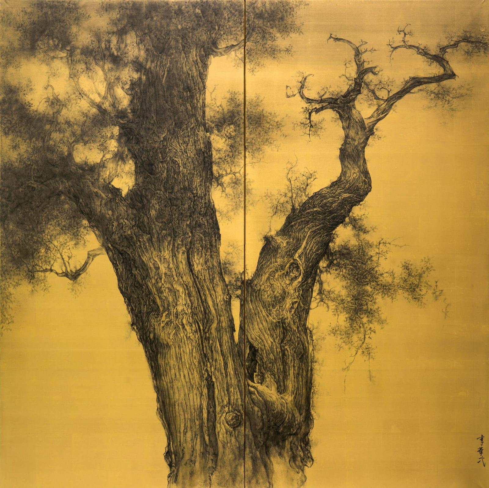 Li Huayi 李華弌, Old Cypress 《古柏》, 2016