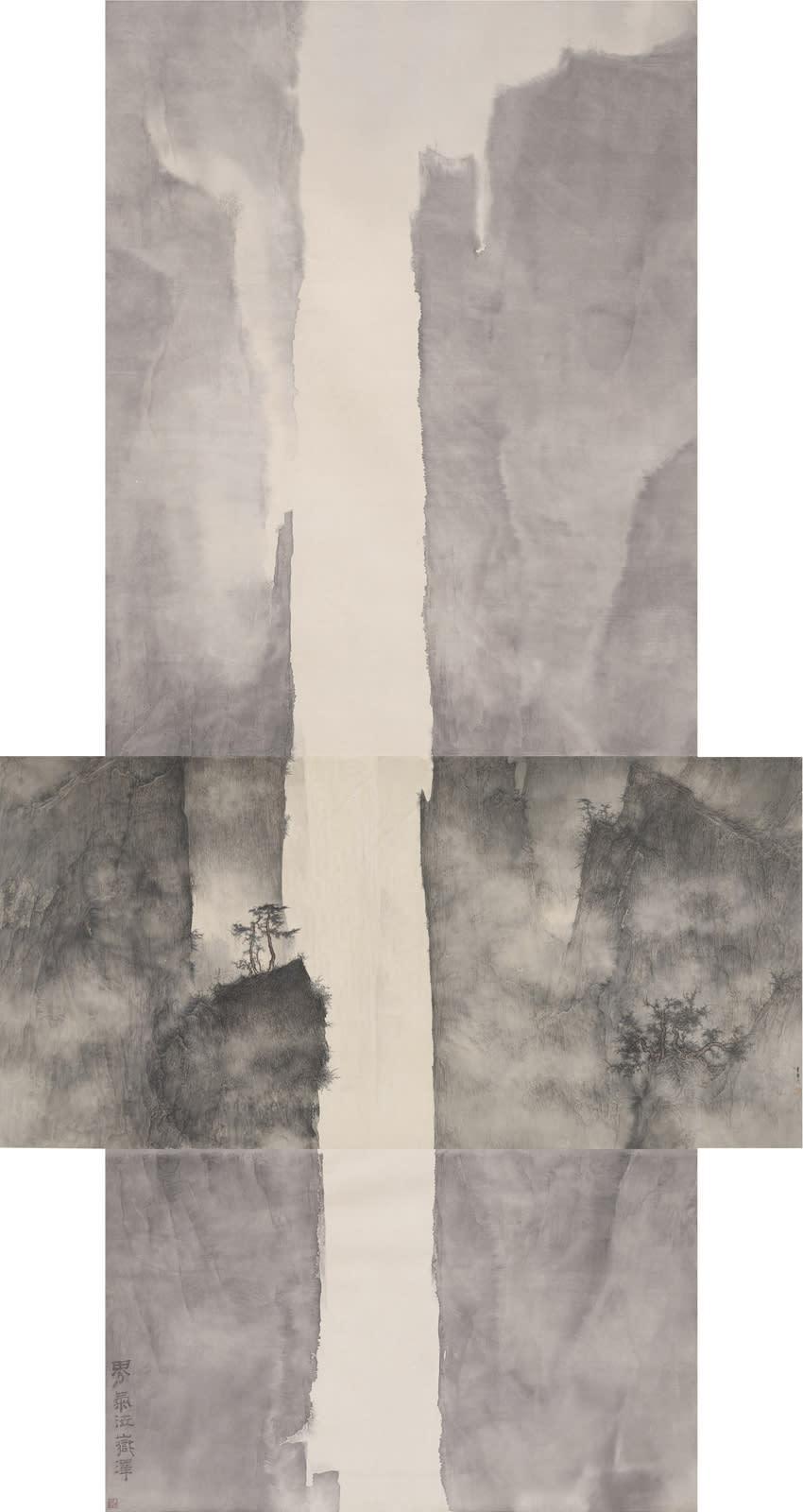 Li Huayi 李華弌, Mountain and Details of the Mountain《此山中》, 2010