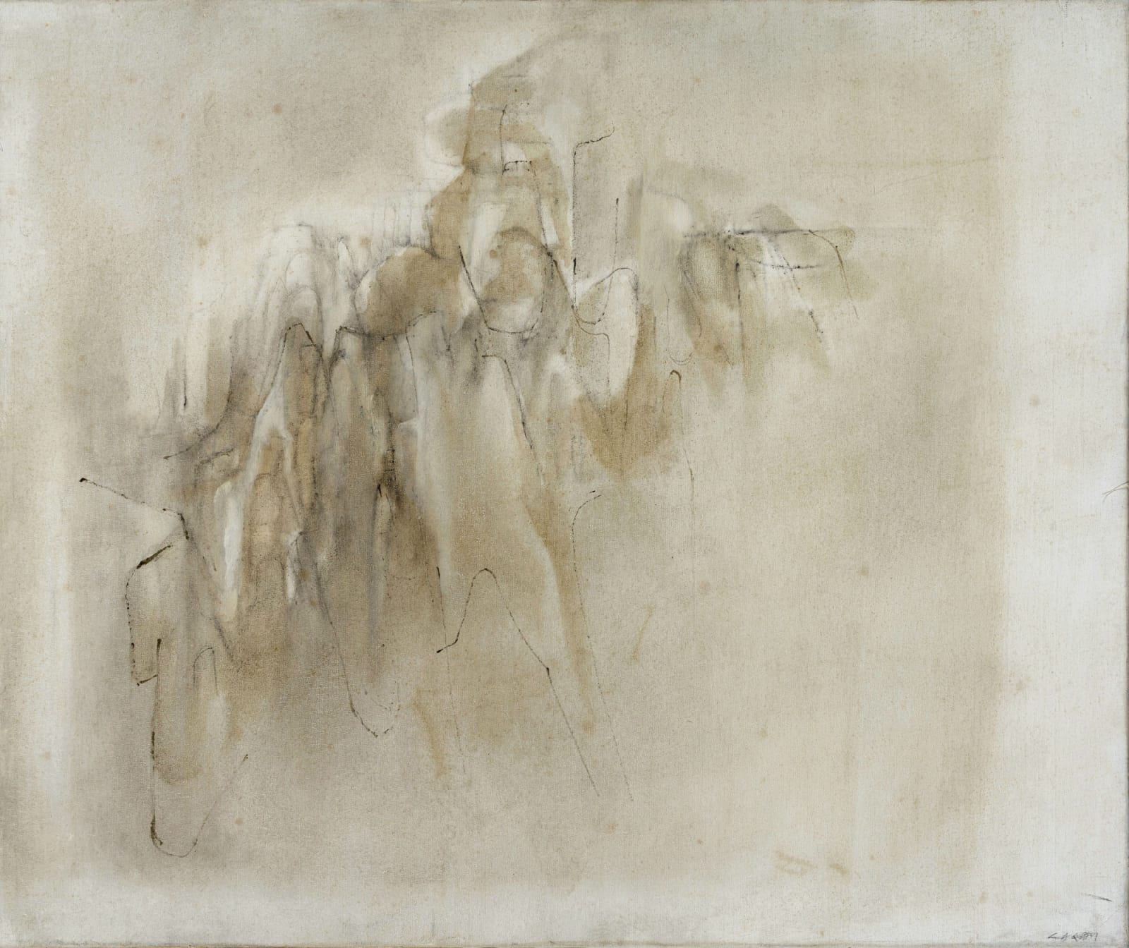Lalan 謝景蘭, Un coin de la vue | Corner of the View 《視覺的一角》, 1981