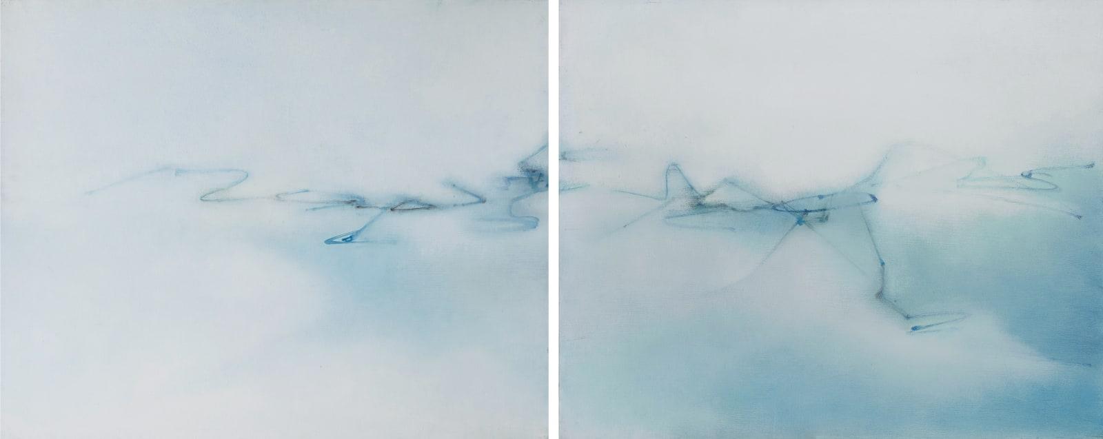 Lalan 謝景蘭, Le slience I & II | The Silence I & II 《靜默 (一) 及 (二)》, 1970s