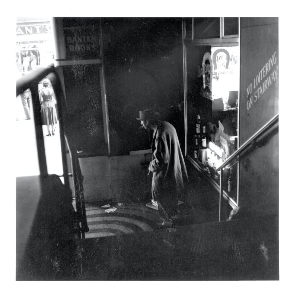 Sid Kaplan, Arcade, Times Square, NYC, September 1952