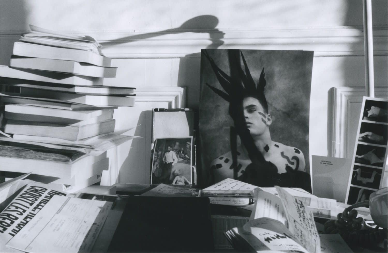 Hervé Guibert, L'iroquois barré, 1986