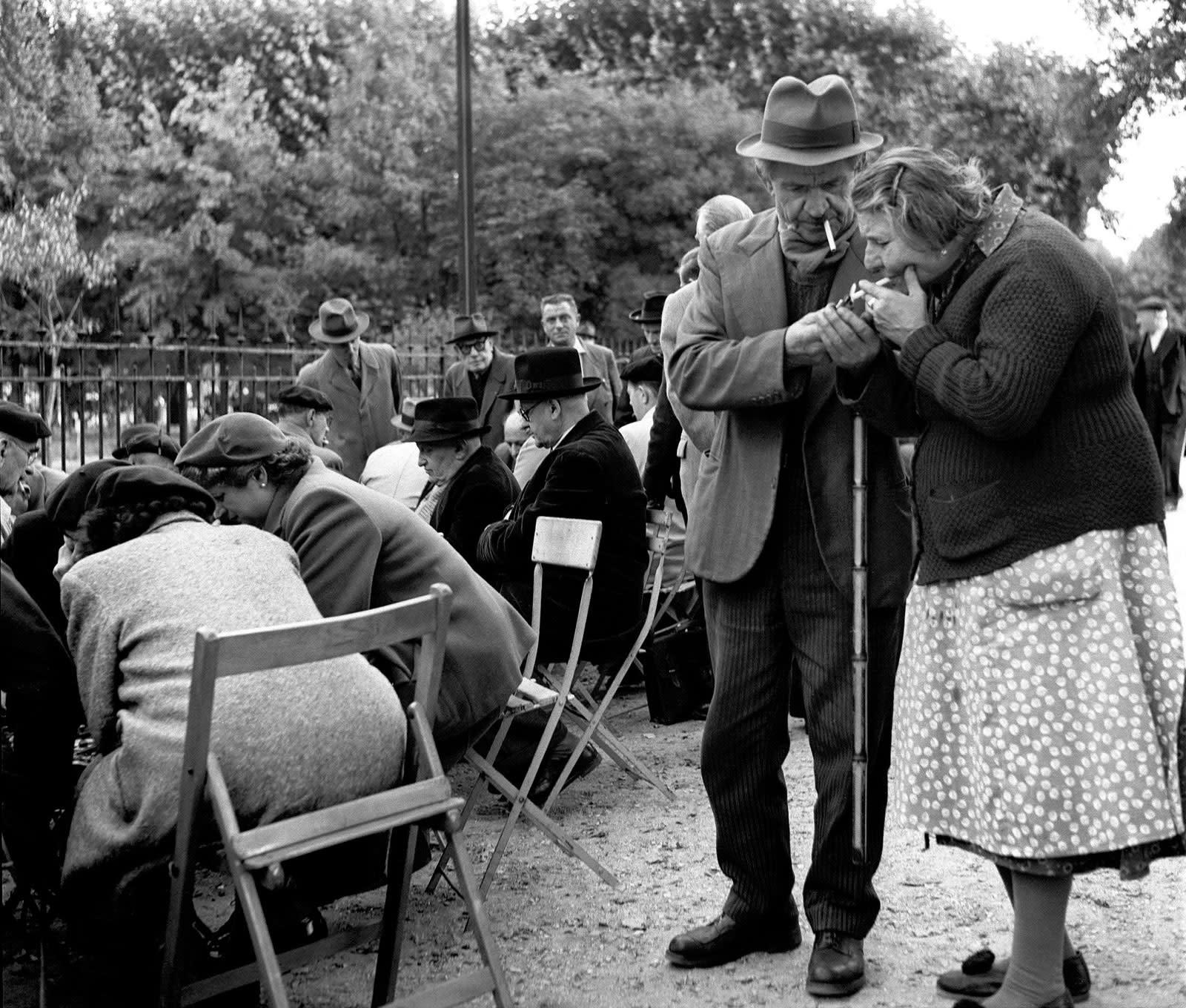 Sabine Weiss, Jardin des Plantes, Paris, 1952