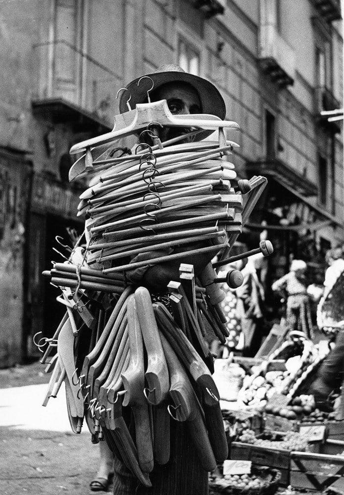 Sabine Weiss, Naples, 1955