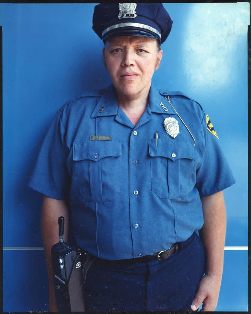 Bruce Wrighton, J.Wayman, Auxiliary Police, Binghamton, NY, 1987