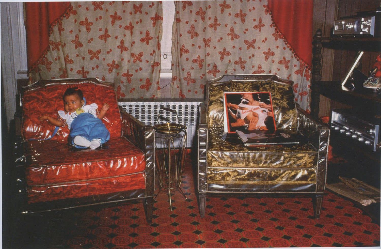 Arlene Gottfried, Living Room, 1979