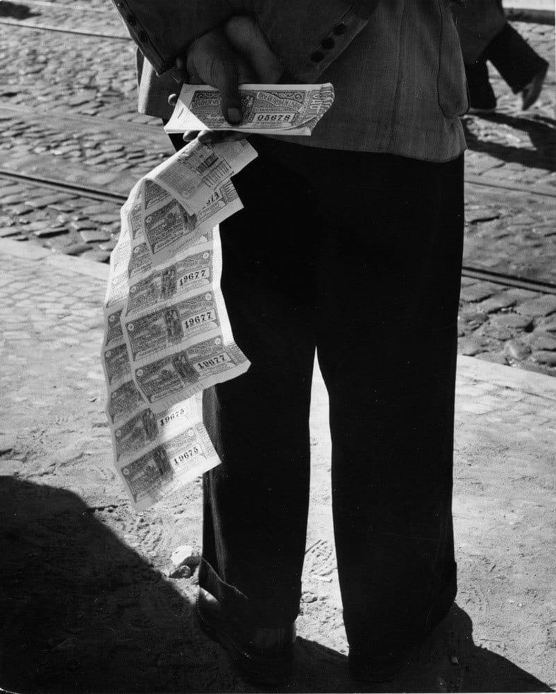 Sabine Weiss, Portugal, 1954