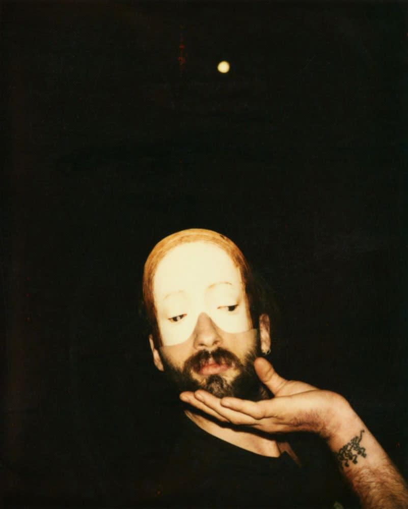 Rodolf Hervé, Budapest, autoportrait, 1993