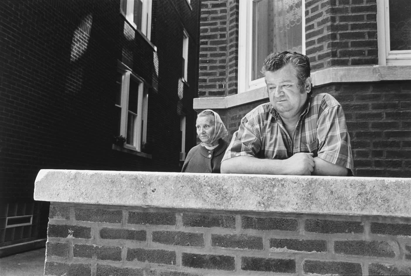 Tom Arndt, Couple, Ukranian Village, Chicago, 1996