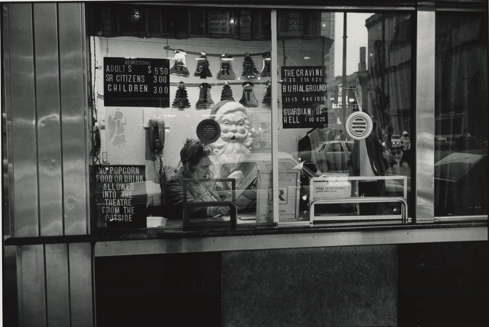 Tom Arndt, Ticket taker, Movie theater, Chicago, 1986