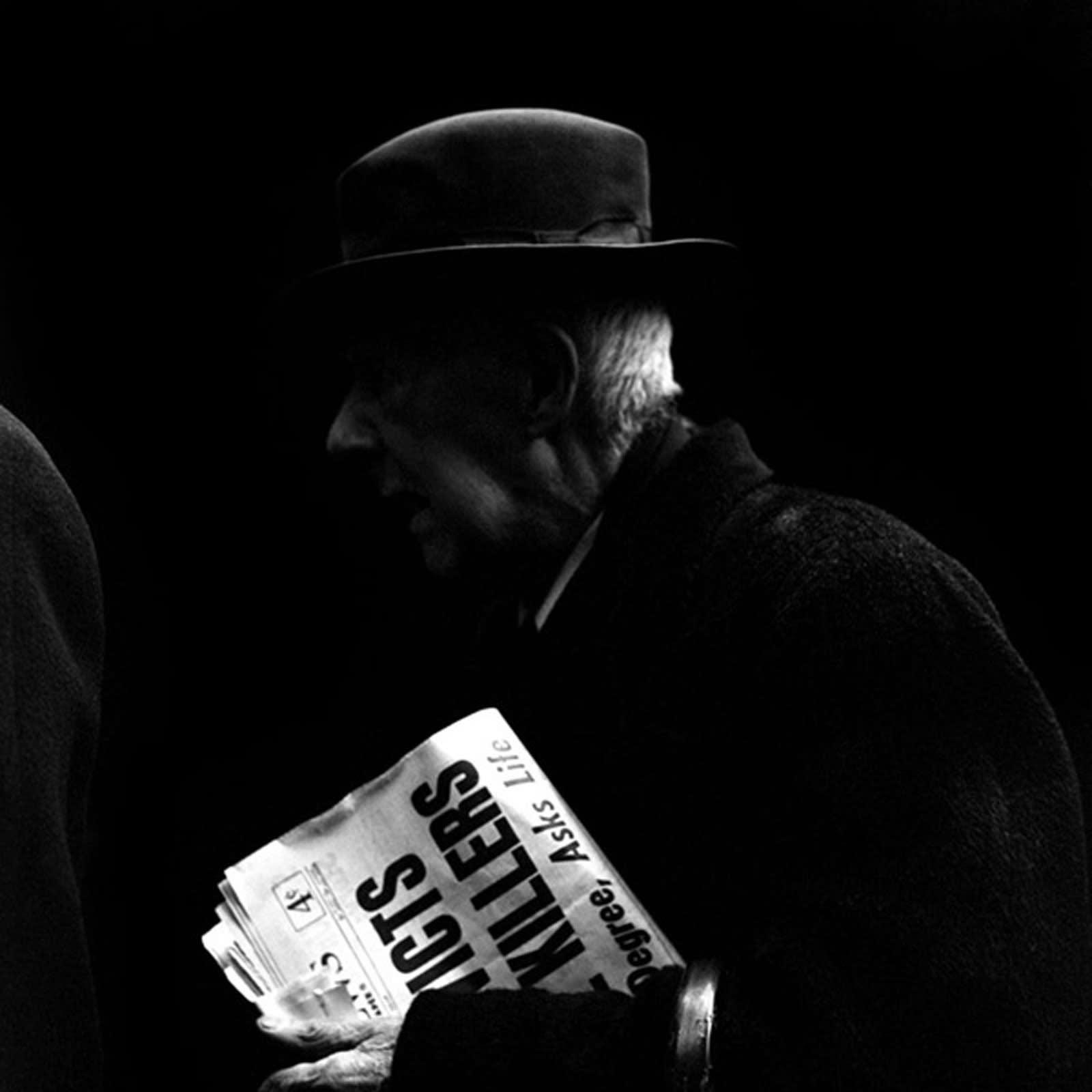 Vivian Maier Chicago, IL, Tirage gélatino-argentique, posthume 30 x 30 cm Dim. papier: 40 x 50 cm