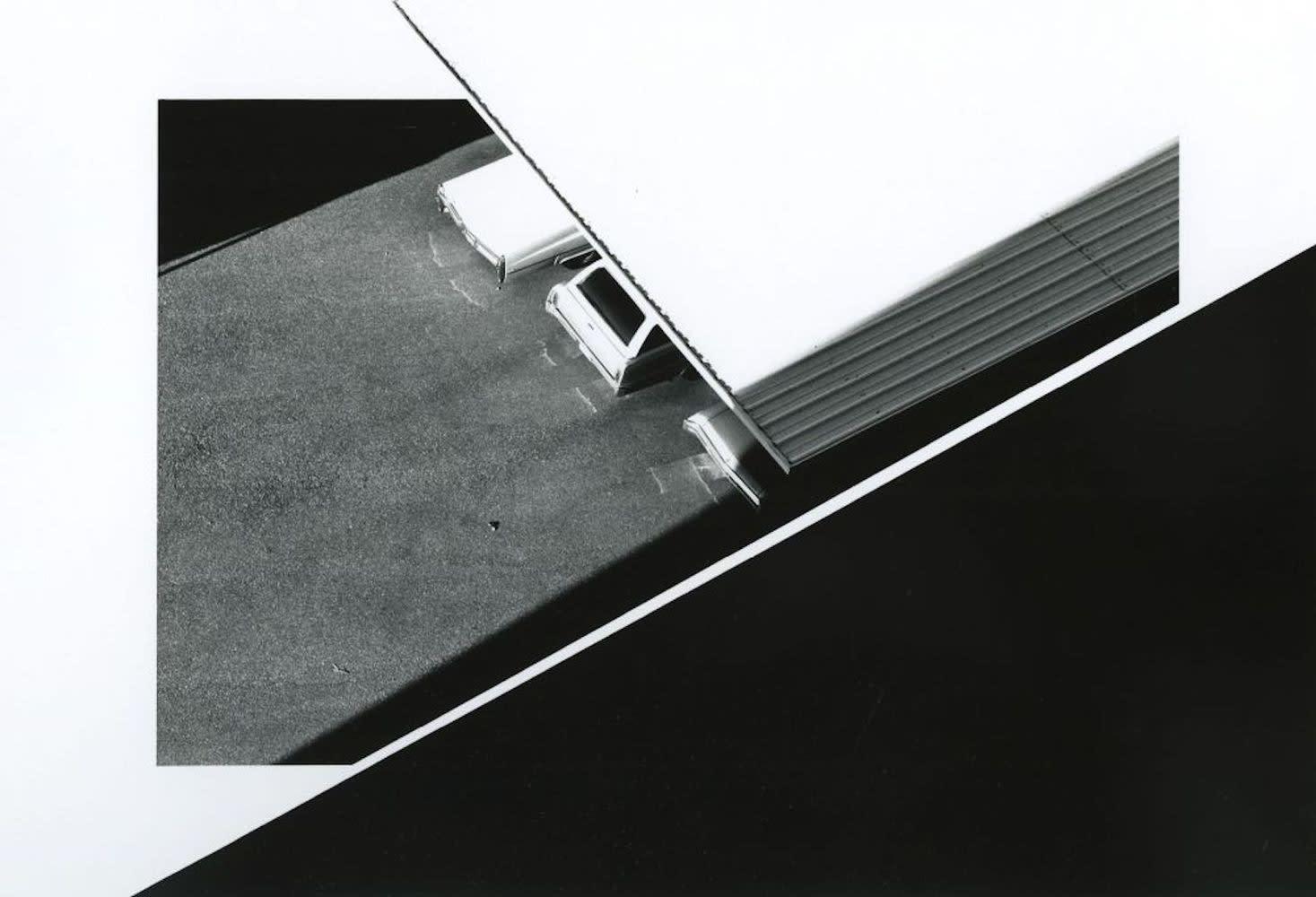 Ray K. Metzker Albuquerque, New Mexico Tirage gélatino-argentique d'époque, réalisé par l'artiste 17 x 21,5 cm Dim. papier: 27,8 x 35,5 cm
