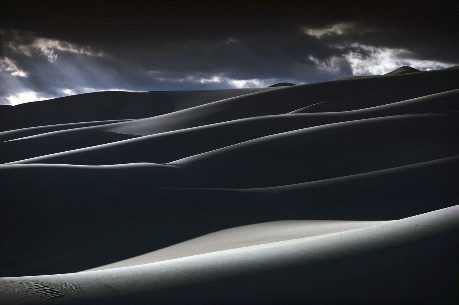 Ernst Haas, Great Sand Dunes, National Park, Colorado, 1978