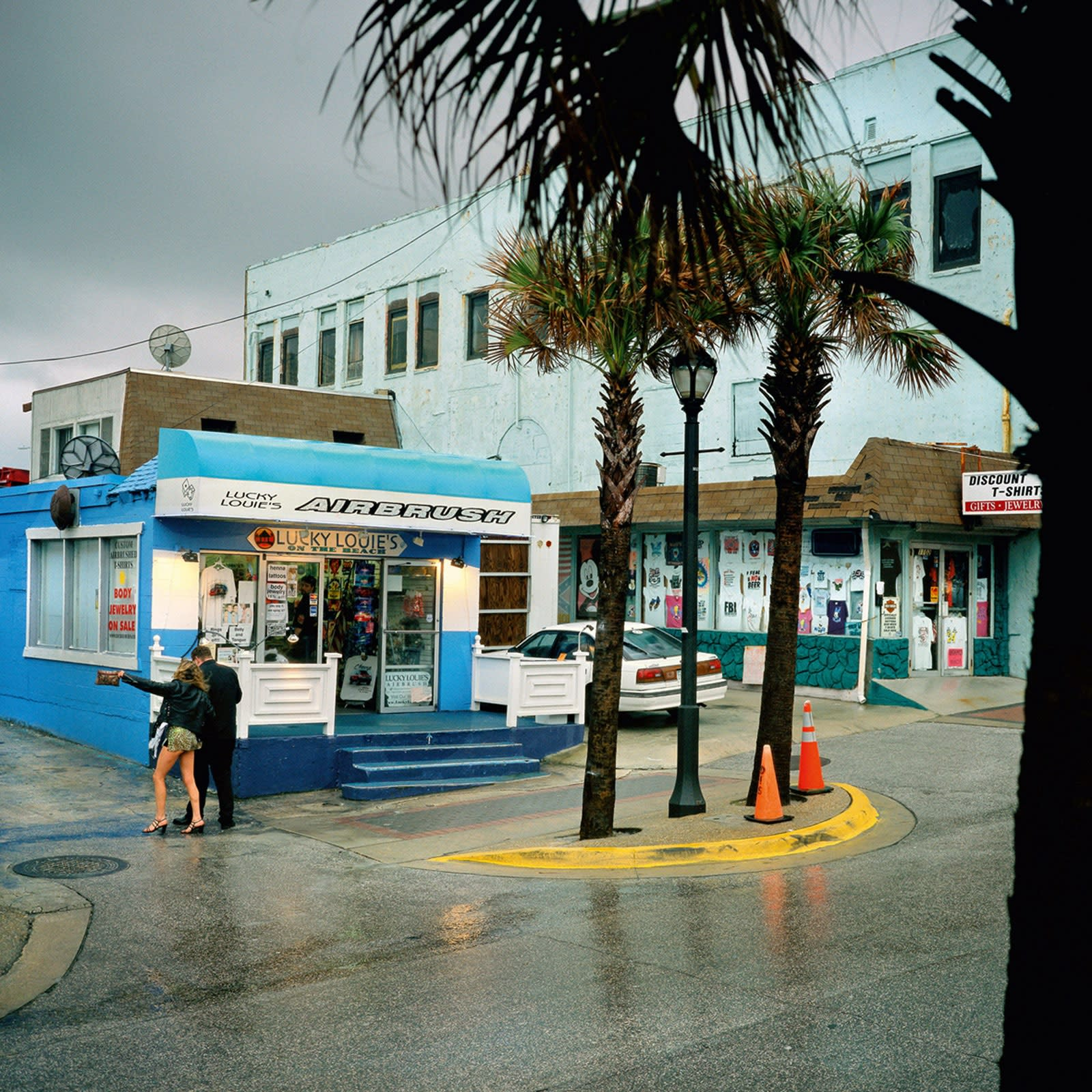 Jean-Christophe Béchet Daytona Beach, Floride #193 Tirage Ilfochrome (Cibachrome) Dim. papier: 40 x 50 cm