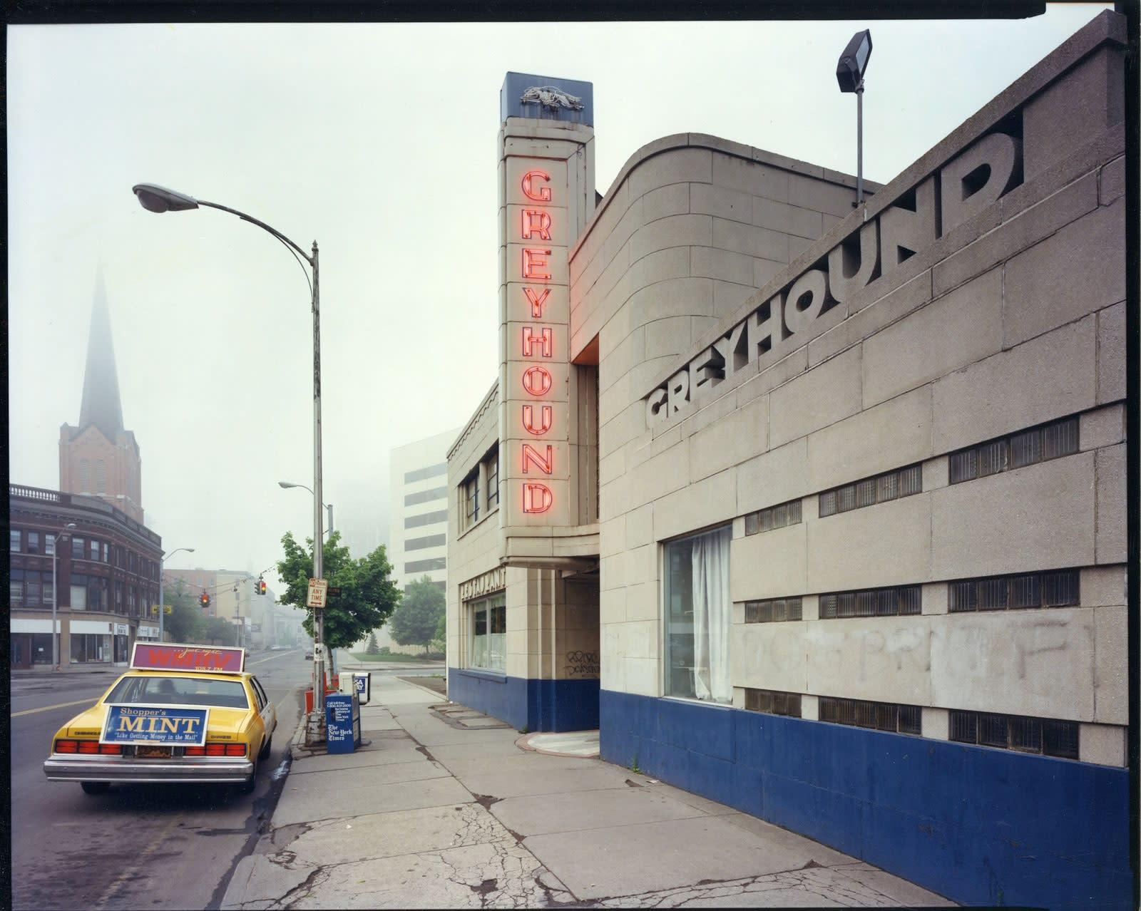 Bruce Wrighton, Greyhound Bus Station, Binghamton, NY, 1986
