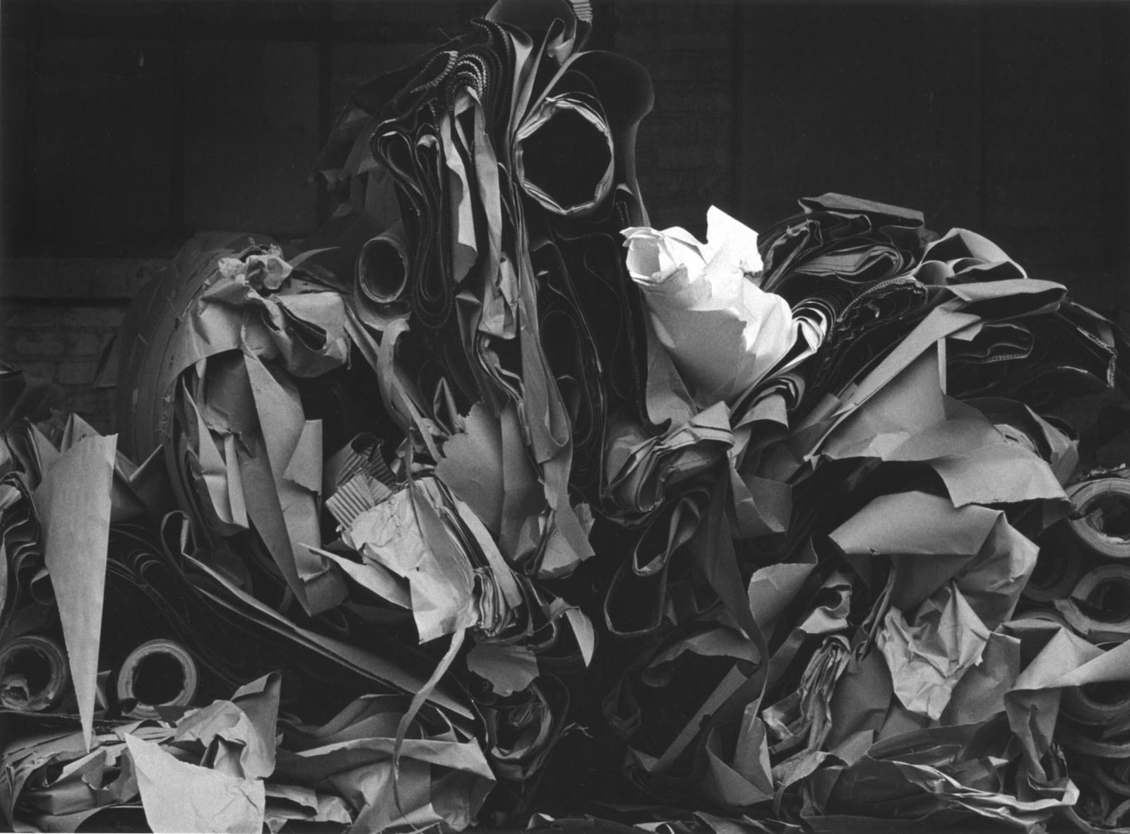 Ray K. Metzker Chicago - Non Loop Tirage gélatino argentique postérieur, réalisé par l'artiste 15,3 x 21 cm Dim. papier: 20 x 25 cm